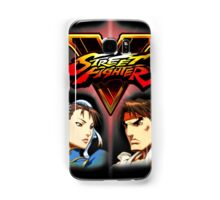 Street Fighter - Chun-li & Ryu Samsung Galaxy Case/Skin