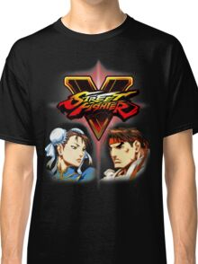 Street Fighter - Chun-li & Ryu Classic T-Shirt