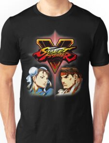 Street Fighter - Chun-li & Ryu Unisex T-Shirt