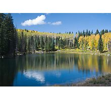 Glacier Lake, Grand Mesa, Colorado Photographic Print
