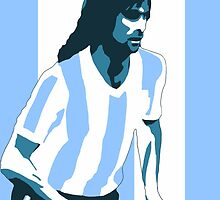 Mario Kempes by johnsalonika84