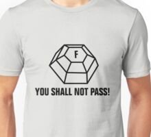 You shall not pass - ForceField Unisex T-Shirt