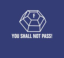 You shall not pass - ForceField white Unisex T-Shirt