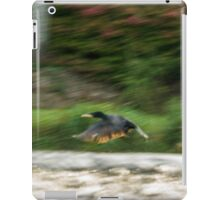 Dynamism of a Cormorant iPad Case/Skin