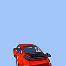 Fortitude's Porsche 911 Carrera ''A Whale Of A Time'' Poster by twainf