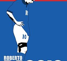 Roberto Baggio by johnsalonika84