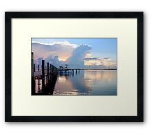 A Day For Fishing Framed Print