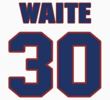 National Hockey player Jimmy Waite jersey 30 by imsport