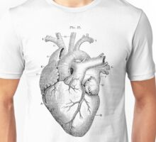 Anatomical Heart Unisex T-Shirt