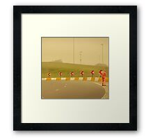 Belgium Highway Man Framed Print