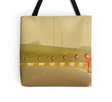 Belgium Highway Man Tote Bag