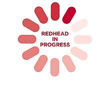 redhead v1 Photographic Print