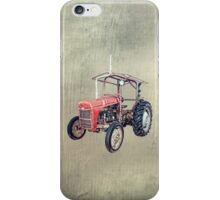 Grey Fergie Tractor  iPhone Case/Skin