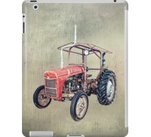 Grey Fergie Tractor  iPad Case/Skin