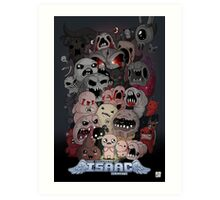 Binding of Isaac Fan art Art Print