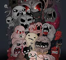 Binding of Isaac Fan art by allanohr