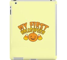 My First Halloween! with pumpkin iPad Case/Skin