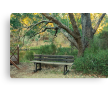 By the Blackwood, Bridgetown, Western Australia Canvas Print