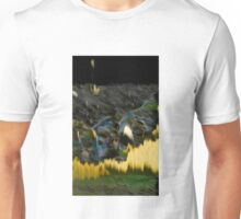 Yellow Electric Landscape Unisex T-Shirt