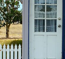 Front door, Wandoan, Qld Australia by sandysartstudio