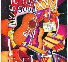 Music for the soul by Helen Wilding