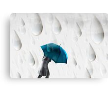 Homage to Rene Magritte 2 Canvas Print