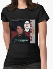 "The Tony 'Tex' Watt Jango Radio ""Plugged"" Album Promo Womens Fitted T-Shirt"