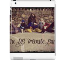 The DB Tribute Band iPad Case/Skin