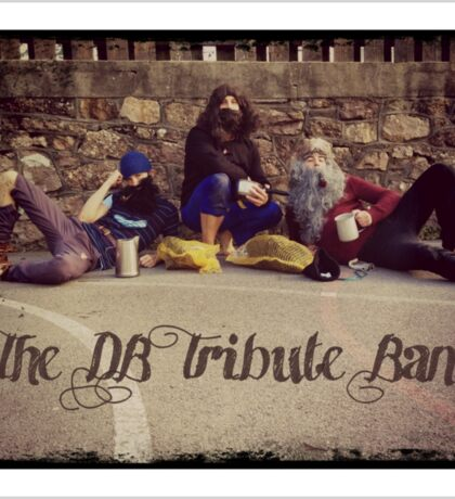 The DB Tribute Band Sticker