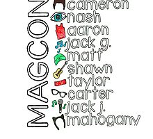 Magcon by Colourfulcases