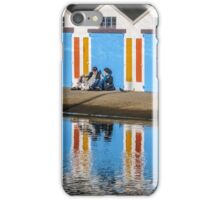 Relaxing at the Boat Sheds iPhone Case/Skin