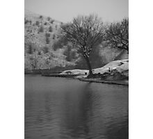 cold day fishing Photographic Print