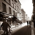 Rue Mouffetard by Douzy