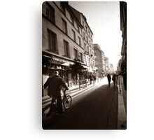 Rue Mouffetard Canvas Print