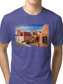 Foinikia village - Santorini island Tri-blend T-Shirt