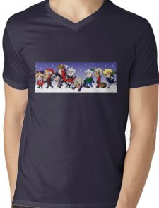 Yu-Gi-Oh! Christmas  Mens V-Neck T-Shirt