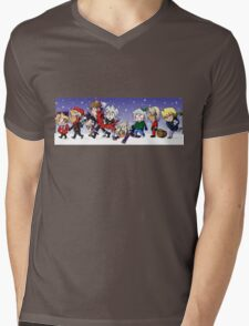 Yu-Gi-Oh! Christmas  Mens V-Neck T-Shirt