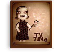TV Tina Canvas Print