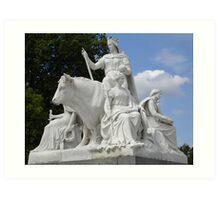 Scultpure (Europe) - HydePark-London Art Print