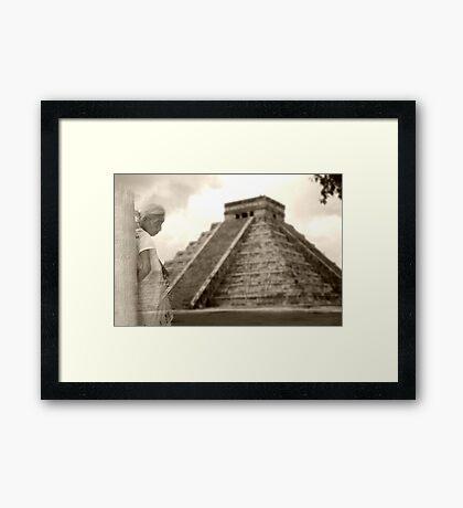 Mayan Dream Framed Print