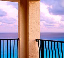Cancun at Dusk by Deri Dority