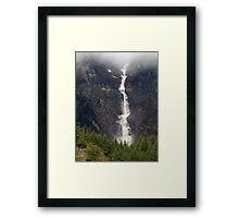 Avalanche over Juneau Framed Print
