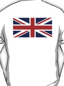 Union Jack, British Flag, UK, United Kingdom, Pure & simple 1:2 T-Shirt