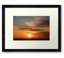 Sun Painting Framed Print