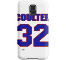 National Hockey player Neal Coulter jersey 32 Samsung Galaxy Case/Skin