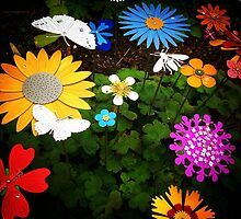 Fake Flowers by Robert Steadman