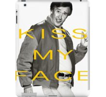 KISS MY FACE iPad Case/Skin