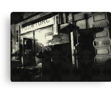 { urban scene } Canvas Print