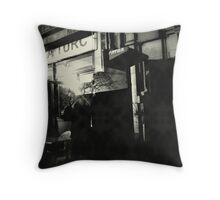 { urban scene } Throw Pillow