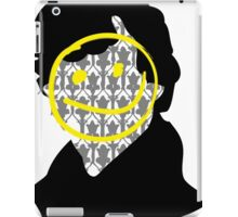 Sherlock Smiley Face iPad Case/Skin